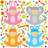 Little babys Royalty Free Stock Photos