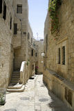 Little back street in the old Royalty Free Stock Image