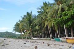 Little Baguio. Strolling around the beach Stock Photos
