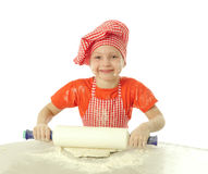 Little baker Stock Photo