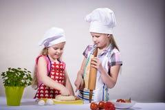 Little baker Stock Photos