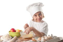 Little baker Stock Image