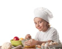 Little baker Royalty Free Stock Images