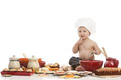 Little Baker Royalty Free Stock Photo