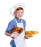 Little baker boy Royalty Free Stock Images