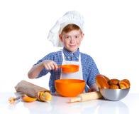 Little baker boy Stock Photography