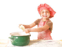 Little baker Stock Images