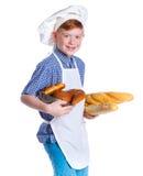 Little baker Stock Photography