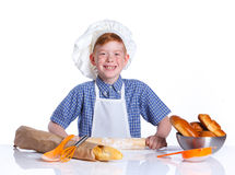 Little baker Royalty Free Stock Photography