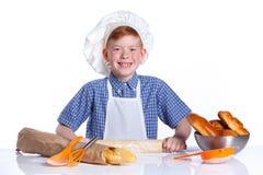 Little baker Royalty Free Stock Photos