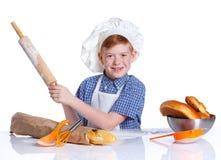 Little baker Stock Image