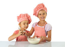 Little bakers Stock Photography