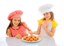 Little bakers Stock Photo
