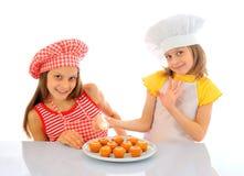 Little bakers Stock Photo