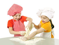 Free Little Bakers Royalty Free Stock Photos - 33496048