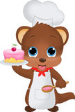 Little Baking Chef Royalty Free Stock Photo