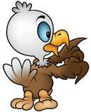 Little Bald Eagle. Cartoon Illustration, Vector Stock Photos