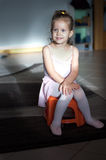 The little balerina Stock Images