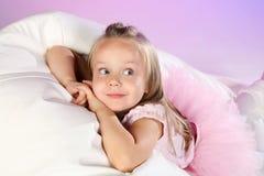 Little balet dancer Stock Images