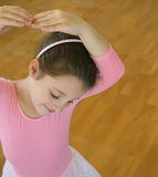 Little Ballerina Royalty Free Stock Images