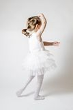 Little Ballerina at Ballet Training Royalty Free Stock Image