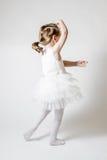 Little Ballerina at Ballet Training Royalty Free Stock Image