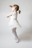 Little Ballerina at ballet Training Stock Image