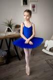 Little ballerina royalty free stock photography