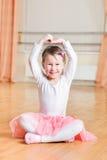 Little ballerina dance Stock Images