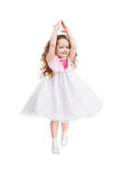 Little Ballerina Dancing Royalty Free Stock Photography