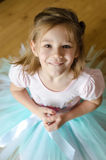 Little ballerina Stock Photo