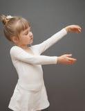 Little ballerina Stock Photography