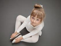Little ballerina Royalty Free Stock Photos