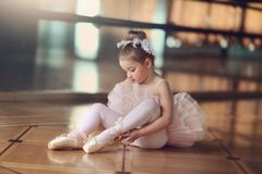 Little Ballerina Stock Image