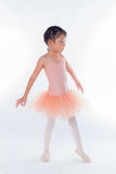 Little ballerina in the studio Stock Photography