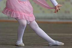 Little ballerina 5 Royalty Free Stock Photos