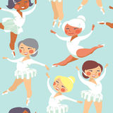 Little  ballerinas Royalty Free Stock Images