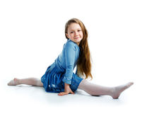 Little ballet dancer Royalty Free Stock Photography