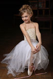 Little ballet dancer Stock Image