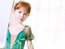 Little ballet dancer Stock Photo