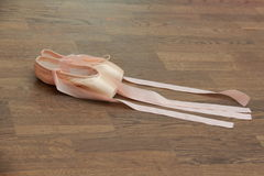 Little ballet shoes Royalty Free Stock Images