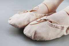 Little Ballet Slippers Stock Image