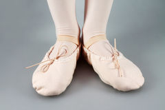 Little Ballet Slippers Royalty Free Stock Photo
