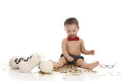 Little Banker. Stock Image
