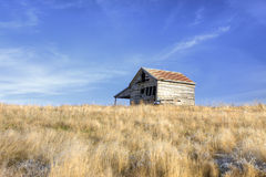 Little barn on the palouse. Stock Image