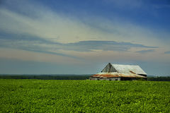 Little barn Royalty Free Stock Photography