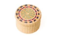 Little basket Stock Images