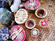The little baskets stock image