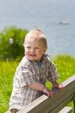 Little bavarian boy Stock Photo