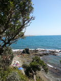 Little bay in Castiglioncello Royalty Free Stock Photo